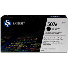 HP 507A (CE400A) Black Original Toner Cartridge in Retail Packaging