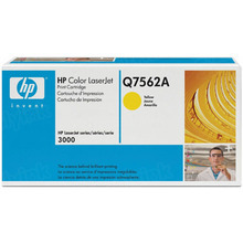 HP 314A (Q7562A) Yellow Original Toner Cartridge in Retail Packaging