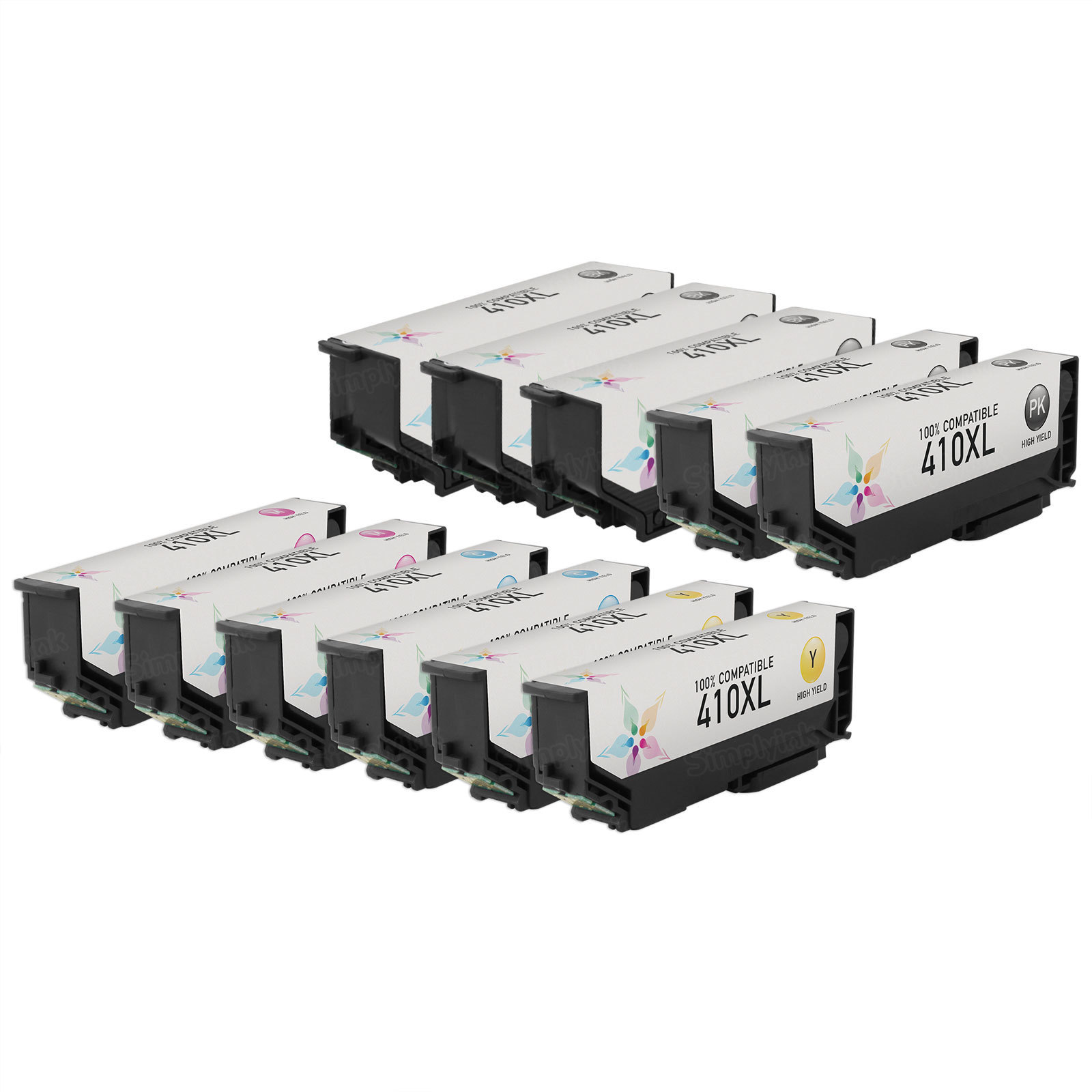 Remanufactured 410XL 11 Pack for Epson