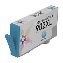 Compatible Brand Ink Cartridge Replacement for HP T6M02AN (HP 902XL) High-Yield Cyan