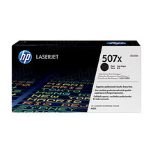 HP 507X (CE400X) Black High Yield Original Toner Cartridge in Retail Packaging