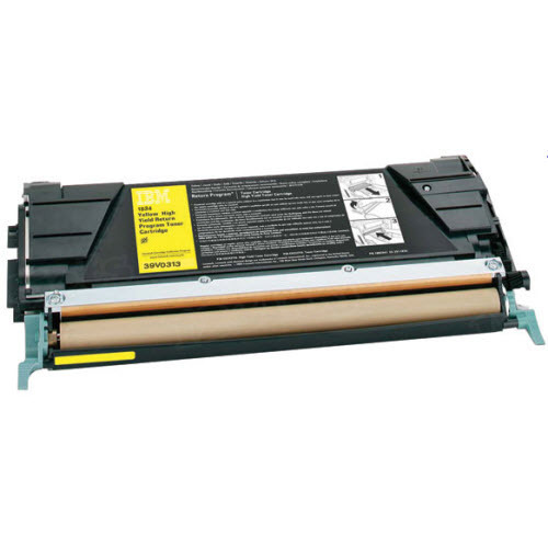 OEM IBM 39V0313 yellow Toner Cartridge