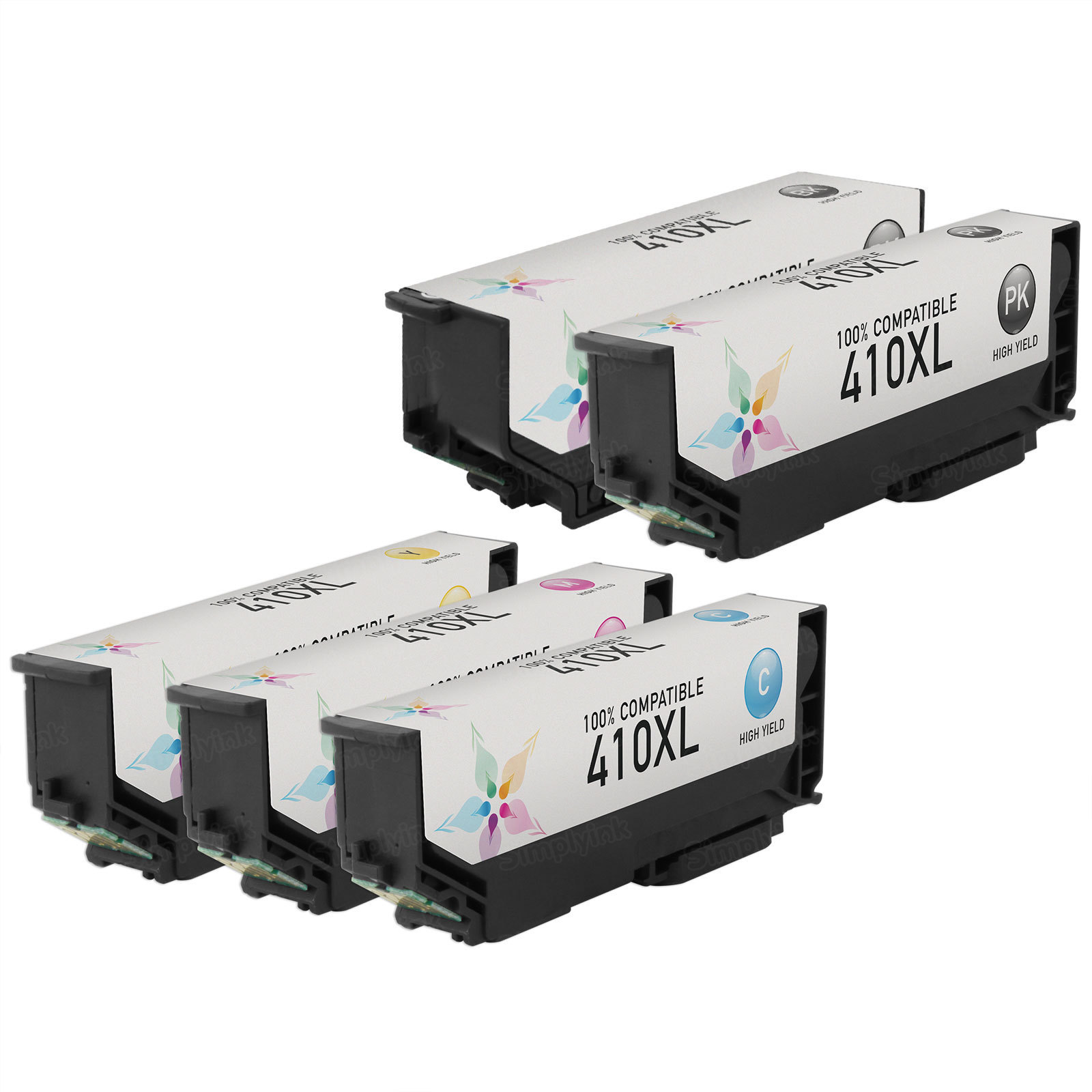 Remanufactured 410XL 5 Pack for Epson