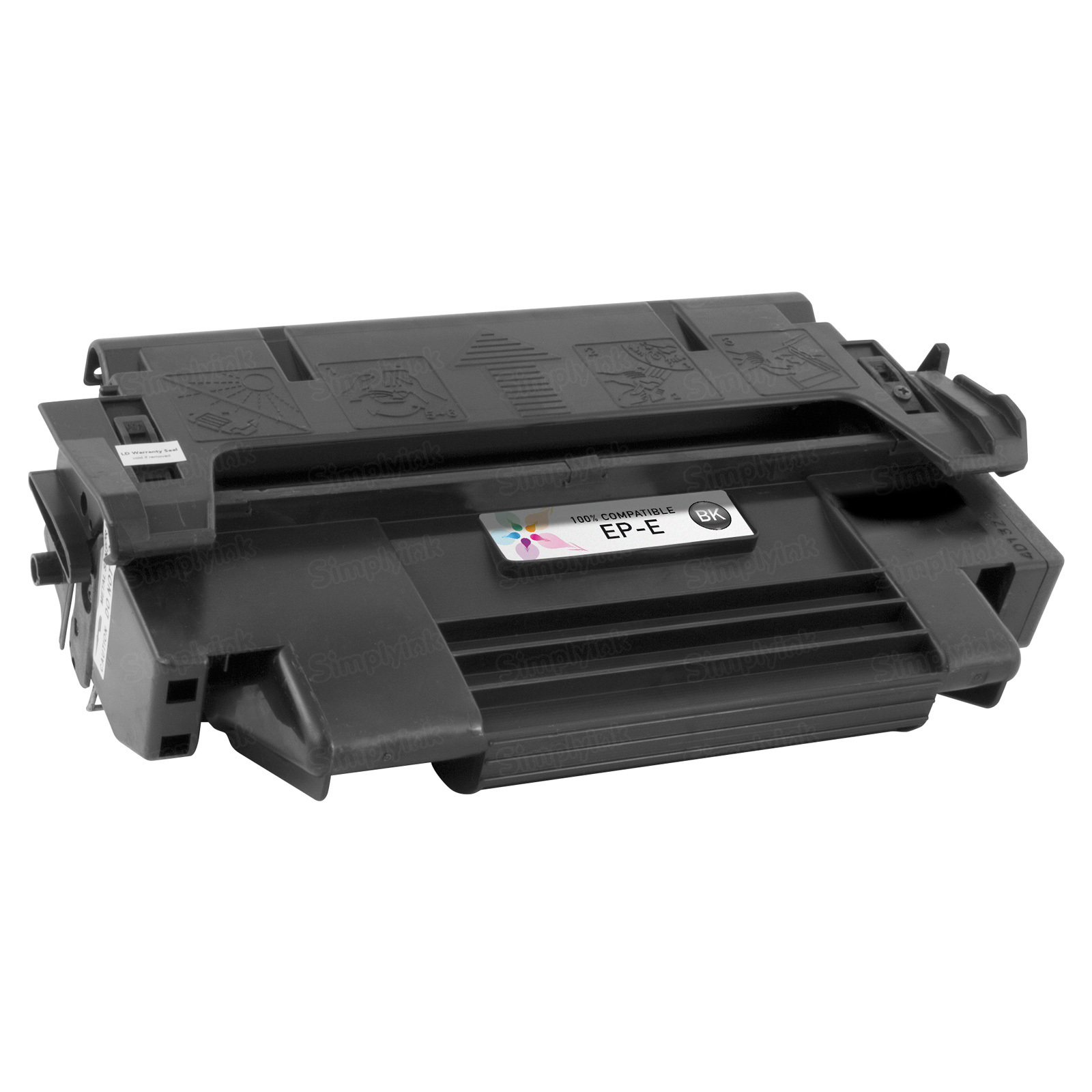 Canon EP-E) Black Toner Cartridge, Remanufactured