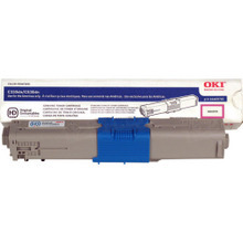Original Magenta Type C17 Laser Toner Cartridge for Okidata 44469702 3K Page Yield