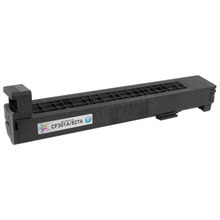 Remanufactured Replacement for HP CF301A (827A) Cyan Laser Toner Cartridge