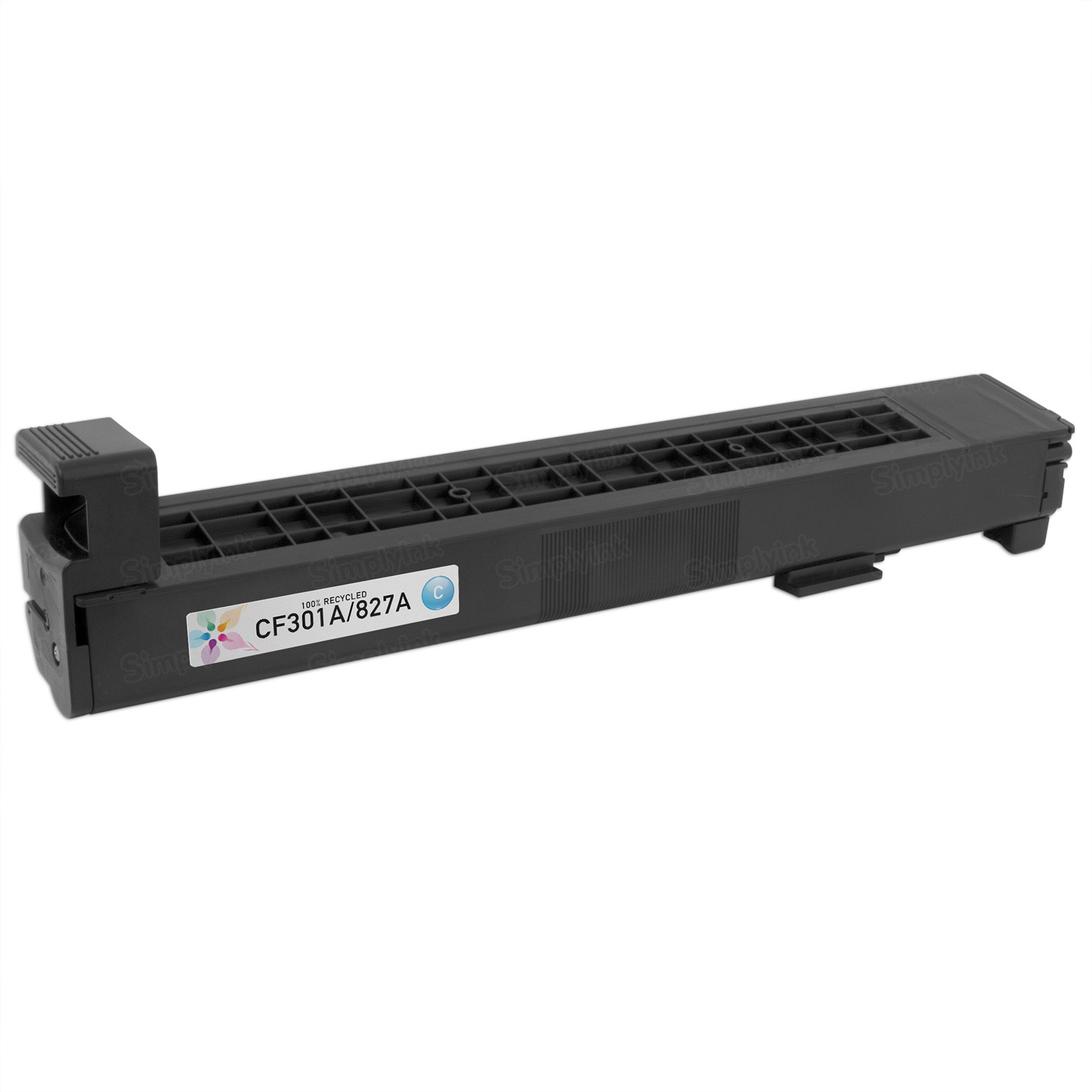 Remanufactured Replacement Cyan Laser Toner for HP 827A