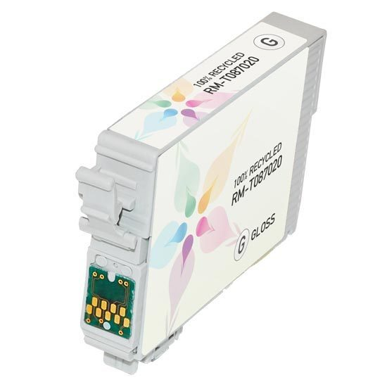 Epson Remanufactured T087020 Gloss Optimizer Inkjet Cartridge