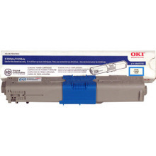 Original Cyan Type C17 Laser Toner Cartridge for Okidata 44469703 3K Page Yield