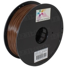 Brown 3D Printer Filament 1.75mm 1kg PLA