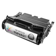 Remanufactured IBM 75P6961 High Yield Black Laser Toner Cartridges