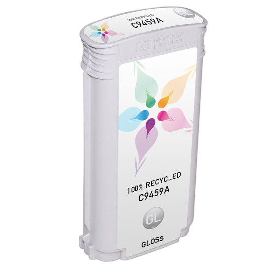 Remanufactured Replacement Gloss Ink for HP 70