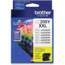 OEM LC205Y for Brother Super High Yield Yellow Ink Cartridge