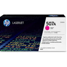 HP 507A (CE403A) Magenta Original Toner Cartridge in Retail Packaging