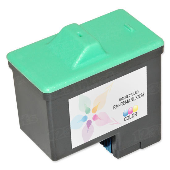 Lexmark Remanufactured 10N0026 Color Ink