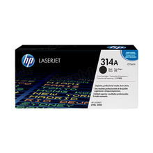 HP 314A (Q7560A) Black Original Toner Cartridge in Retail Packaging