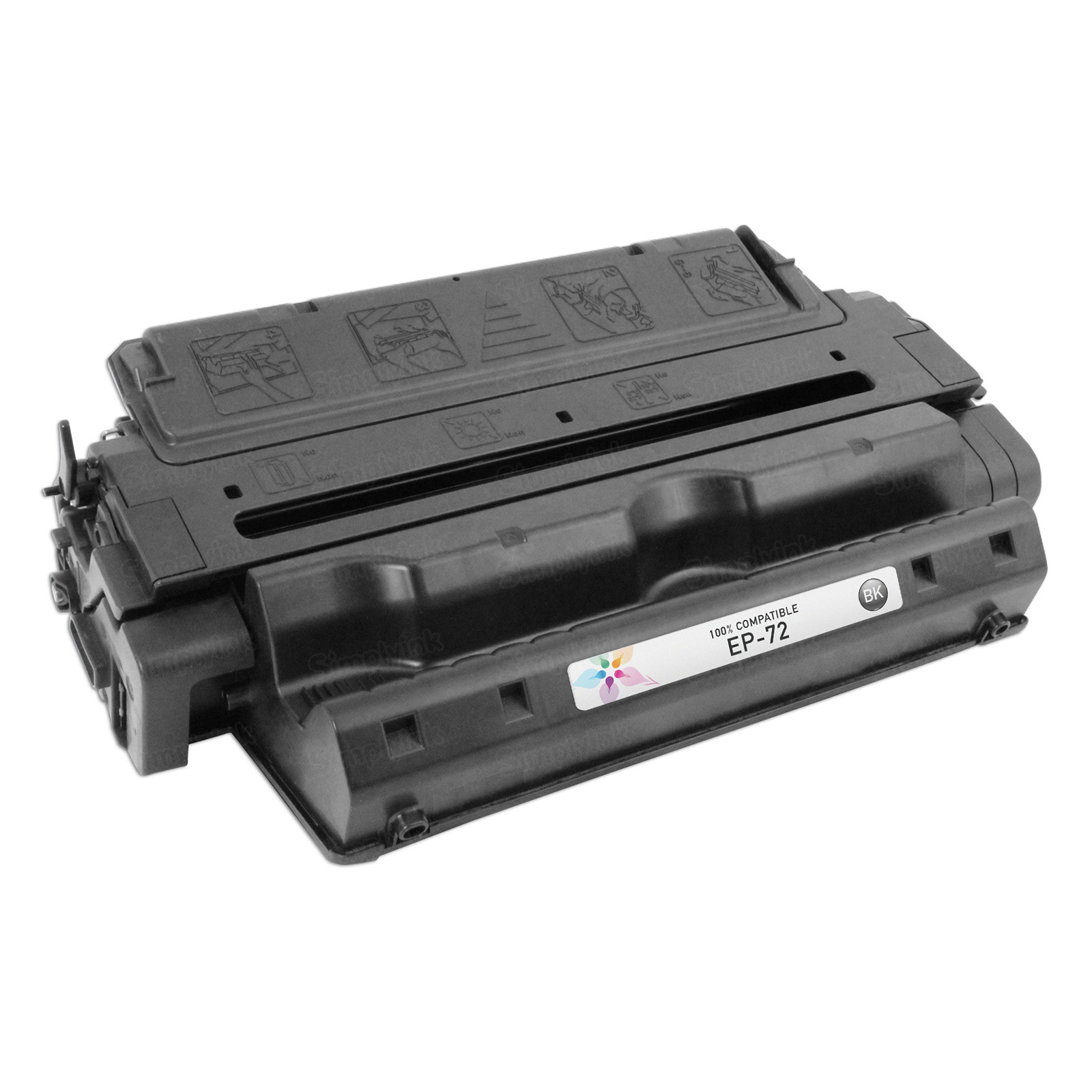 Canon EP-72) Black Toner Cartridge, Remanufactured