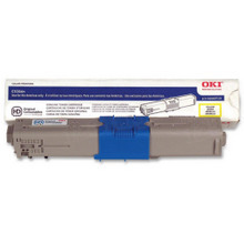 Original High Yield Yellow Laser Toner Cartridge for Okidata 44469719 5K Page Yield
