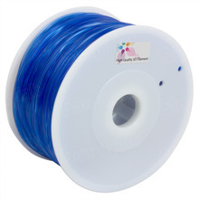 Translucent Blue 3D Printer Filament 1.75mm 1kg PLA