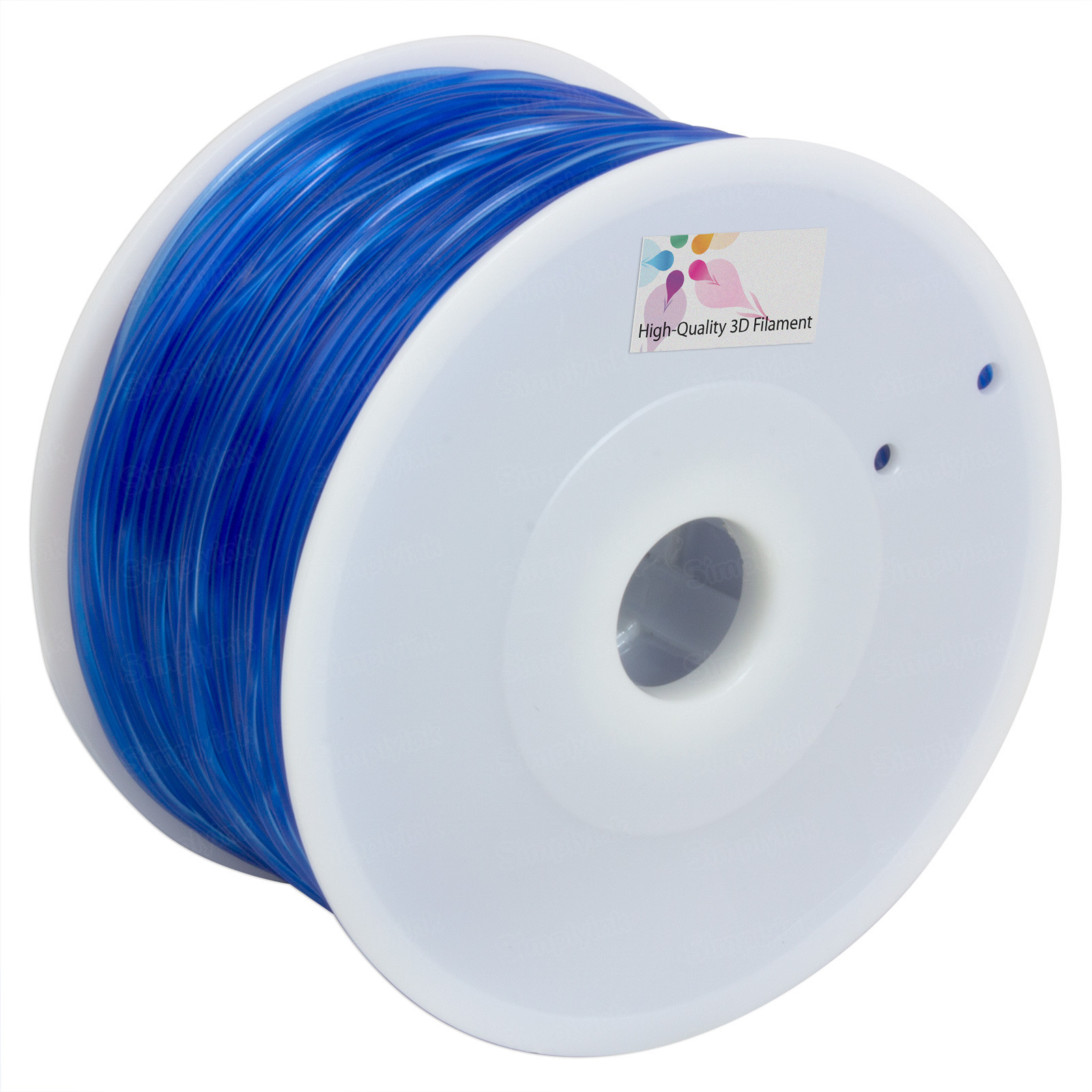 Translucent Blue 1.75mm PLA Filament
