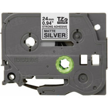 Brother TZeS951 Black on Matte Silver OEM 1 Label Tape