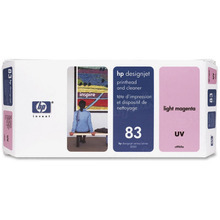 Original HP 83 Light Magenta Printhead & Cleaner in Retail Packaging (C4965A)