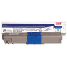 Original High Yield Cyan Laser Toner Cartridge for Okidata 44469721 5K Page Yield