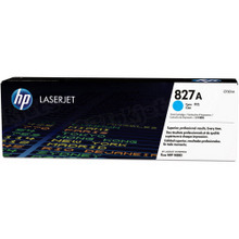 HP 827A (CF301A) Cyan Original Toner Cartridge in Retail Packaging
