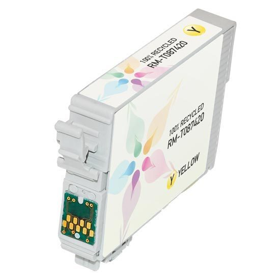Epson Remanufactured T087420 Yellow Inkjet Cartridge