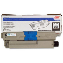 Original High Yield Black Laser Toner Cartridge for Okidata 44469802 5K Page Yield