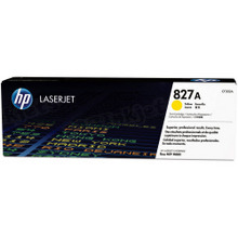 HP 827A (CF302A) Yellow Original Toner Cartridge in Retail Packaging