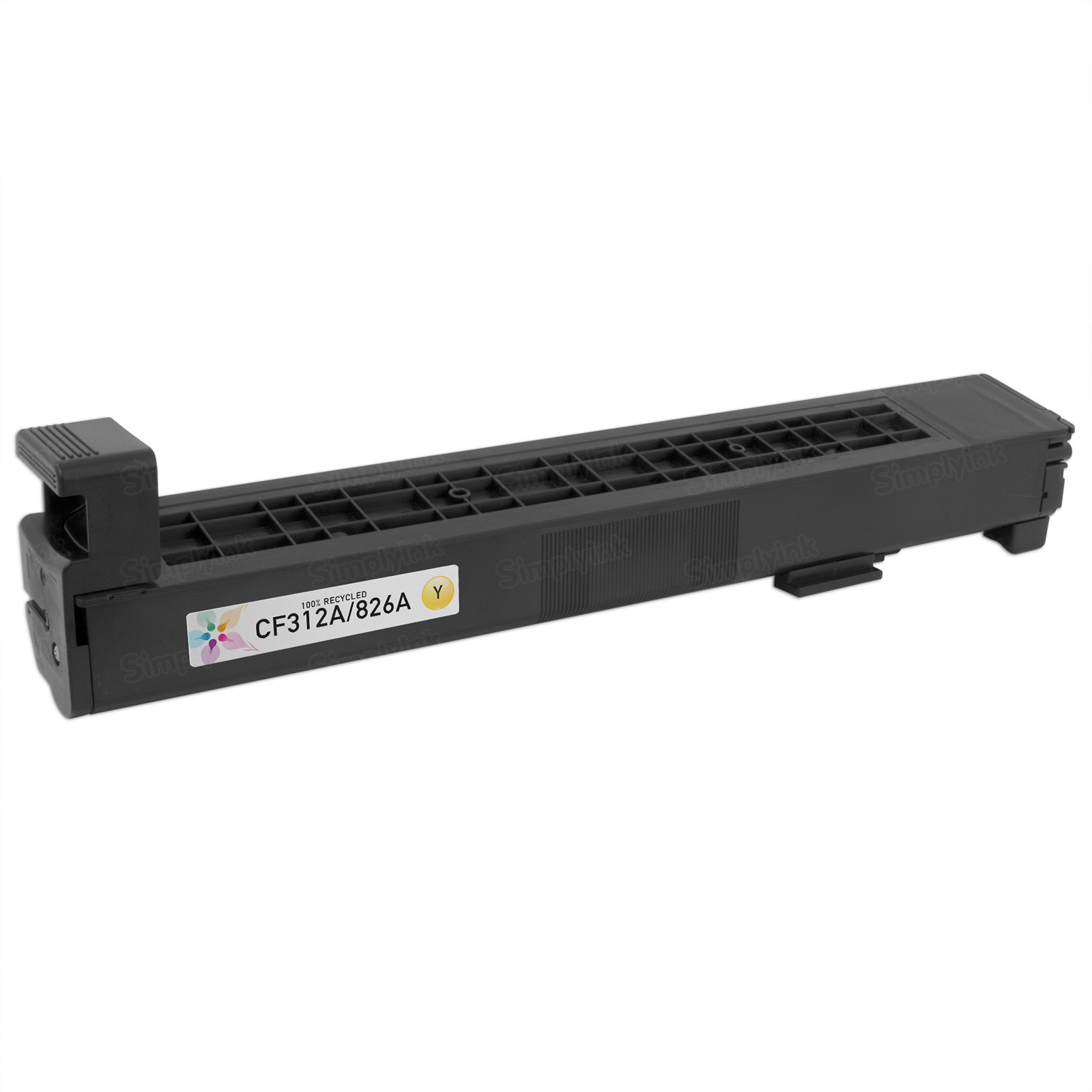 Remanufactured Replacement Yellow Laser Toner for HP 826A
