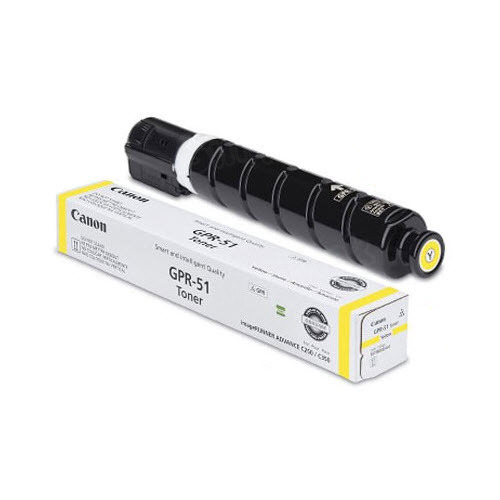Canon GPR-51 Yellow Toner Cartridge, OEM
