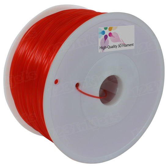 Translucent Red 1.75mm PLA Filament