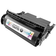 Lexmark Remanufactured High Yield Black Laser Toner Cartridge, 12A6735 (T520/T522/X520/X522/Optra T520 Series) (21K Page Yield)