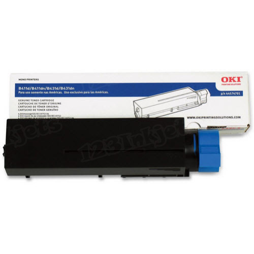 OEM Okidata 44574701 Black Toner Cartridge