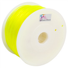 Translucent Yellow 3D Printer Filament 1.75mm 1kg PLA