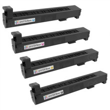 Remanufactured Replacement for HP 826A Black, Cyan, Magenta, Yellow Set of 4 Toner Cartridges