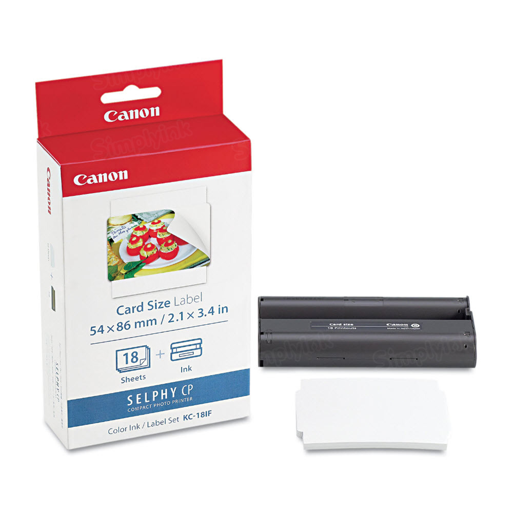 Canon KC-18IF Color OEM Ink Cartridge