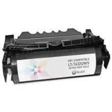 Lexmark Remanufactured High Yield Black Laser Toner Cartridge, 12A7465 (32K Page Yield)