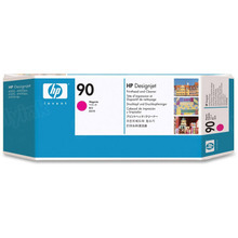 Original HP 90 Magenta Printhead & Cleaner in Retail Packaging (C5056A)