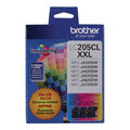 Genuine LC2053PKS Super HY Cyan, Magenta, Yellow Ink for Brother