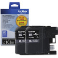 Brother OEM LC1032PKS Black High-Yield Ink Cartridges, 2 Pack