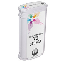 Remanufactured Replacement Ink Cartridge for Hewlett Packard C9370A (HP 72) High-Yield Photo Black