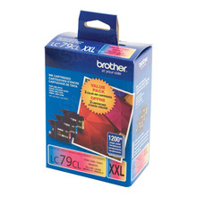 Genuine LC793PKS Super High Yield Cyan, Magenta, Yellow Ink Cartridge for Brother 3-Pack