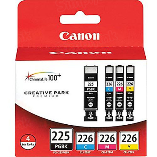 Canon PGI-225 / CLI-226 Color OEM Ink Cartridge 4PK