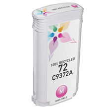 Remanufactured Replacement Ink Cartridge for Hewlett Packard C9372A (HP 72) High-Yield Magenta