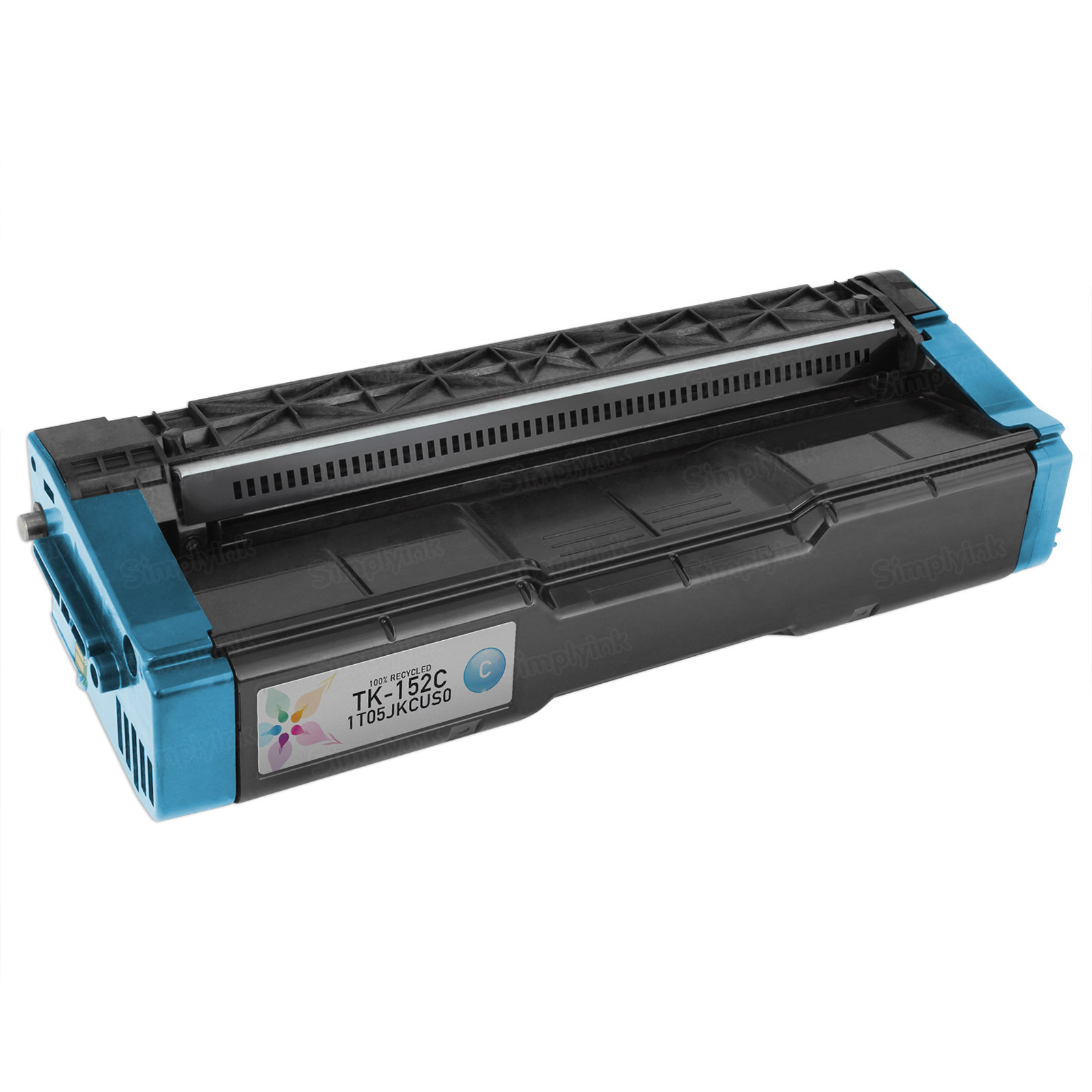 Remanufactured TK-152C Cyan Toner