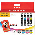 Canon CLI-226 Color OEM Ink Cartridge 4PK
