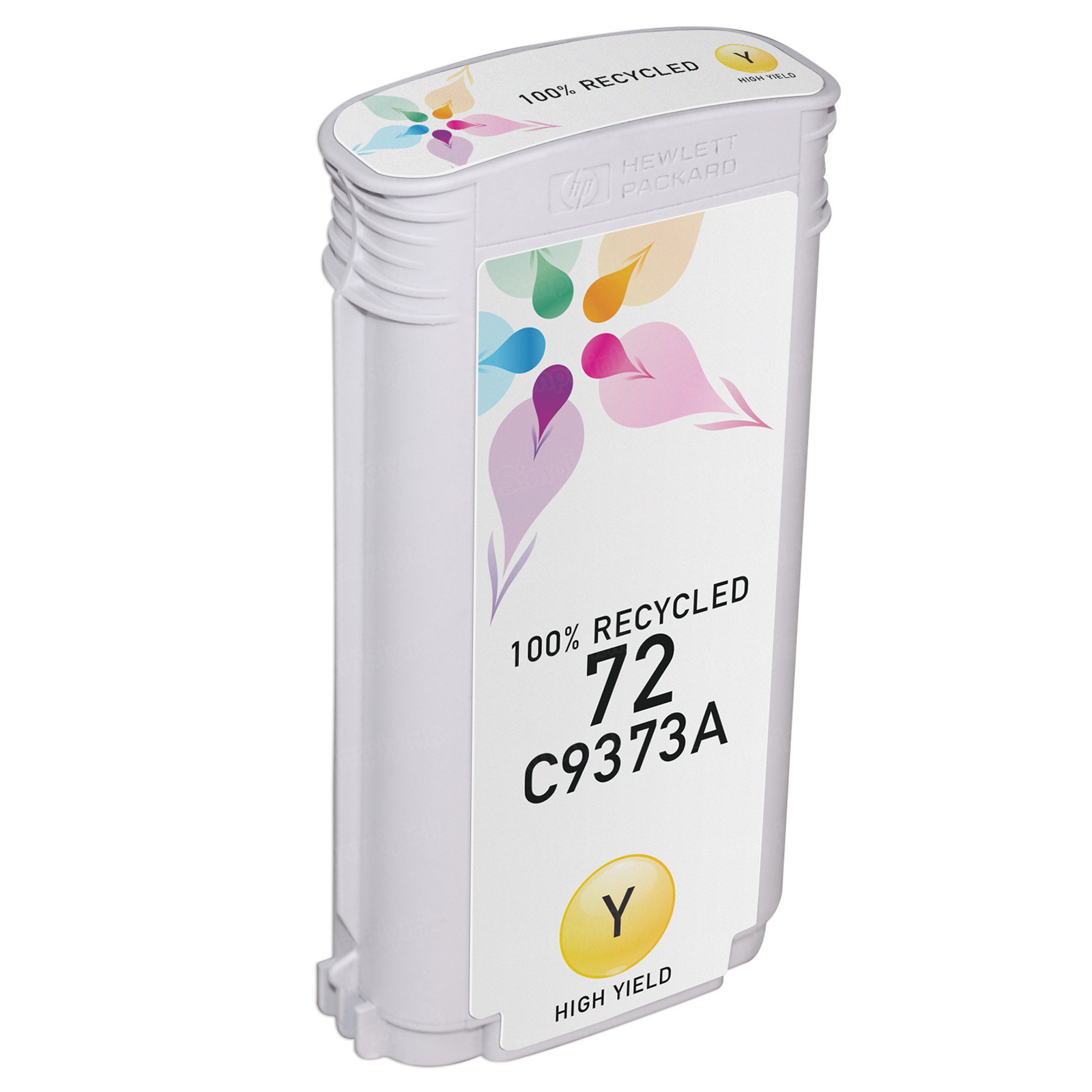 Remanufactured Replacement HY Yellow Ink for HP 72